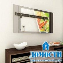 Дизайн ТВ на стене