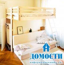 Кровать-чердак для всех поколений