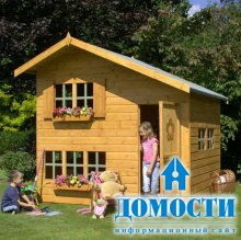 Игровые домики на свежем воздухе