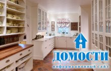 Стильная классика на кухне