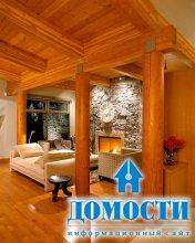 Коттеджный интерьер дома