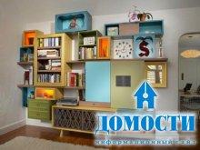Нетривиальный дизайн комнат