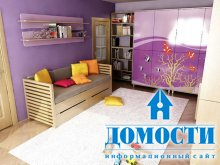 Энергичные детские спальни