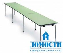 Дачные варианты столов