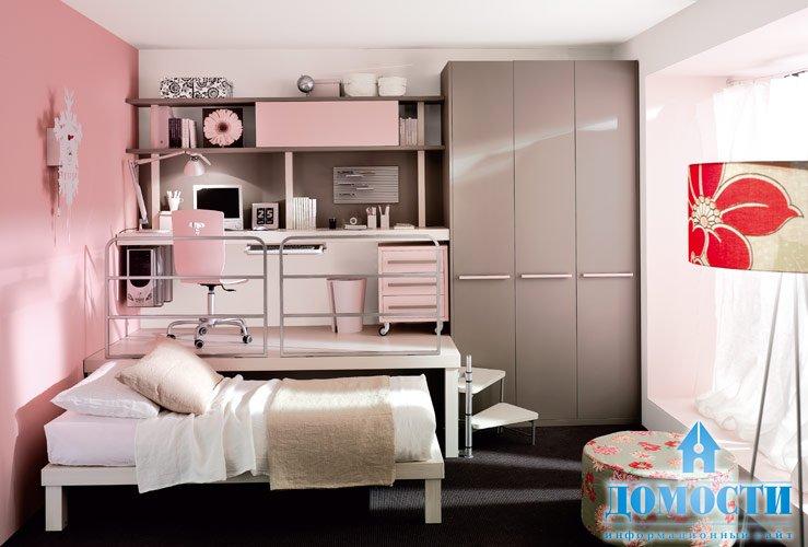 Комната маленькая для девушки дизайн