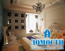 Украшение потолков в спальне