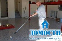 Этапы покраски бетонного пола