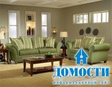 Сочные зеленые диваны