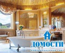 Классическая отделка ванной