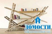 Дизайн встроенных шкафов для книг