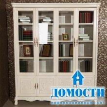 Книги за стеклянными дверцами