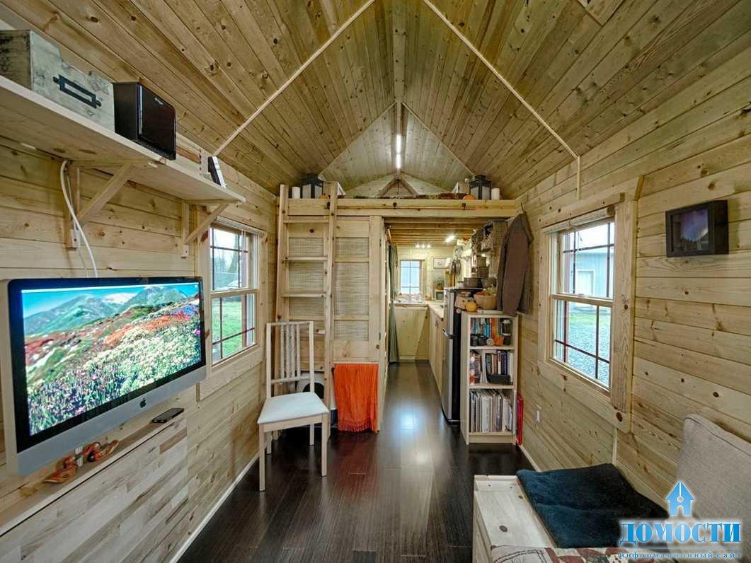 Дизайн интерьера маленьких домов