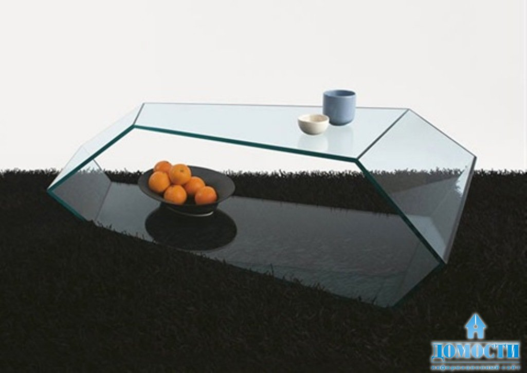 Как сделать стеклянный журнальный стол