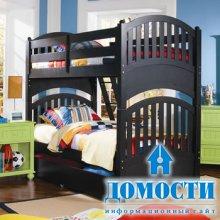 Два яруса для детской спальни