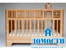 Эко-кровать для детей