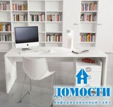 Рабочая зона в подростковой комнате