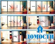Творческий дизайн раздвижных дверей