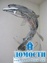 Экологичное искусство: скульптуры