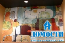 Современная настенная роспись