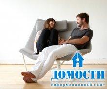 Двухместное кресло-качалка