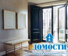 Черные двери в дизайне дома