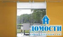Стильные двери из стекла