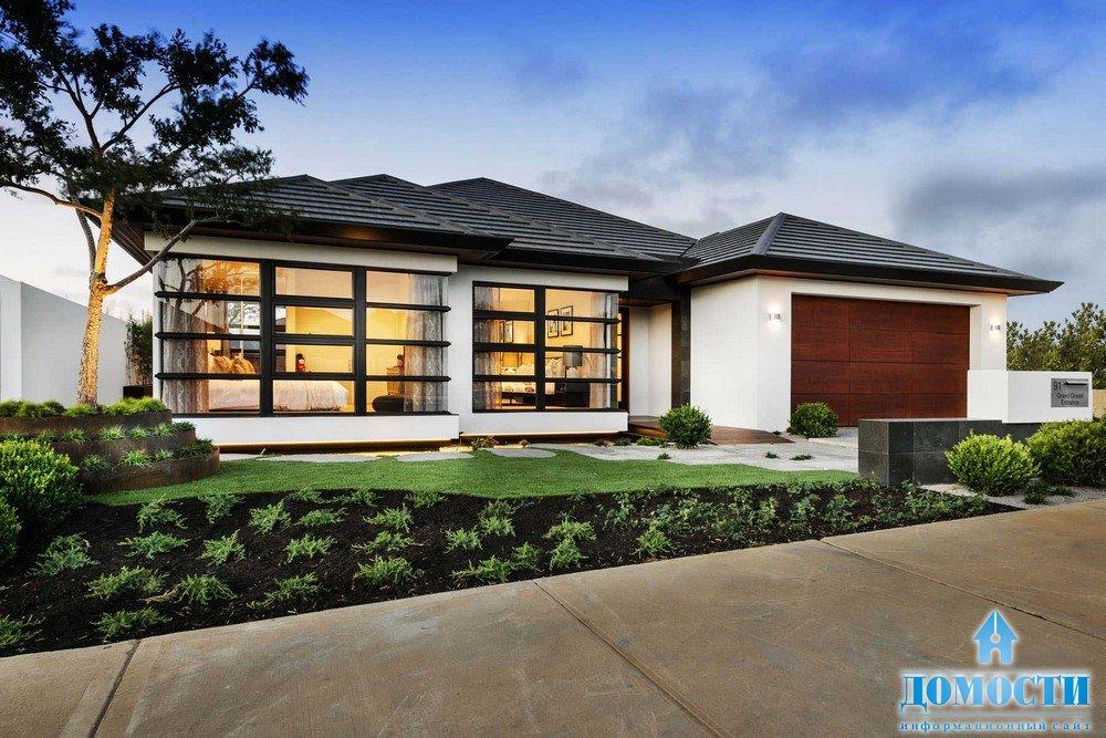 Красивый дом в японском стиле
