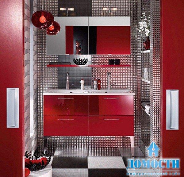 каталоге интерьер мебели в ванной в бордовом цвете оформить молодежную кредитную