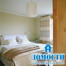 Удобная спальня на небольшой площади