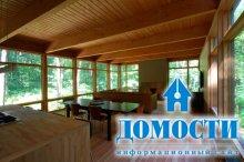 Лесной дом из панелей