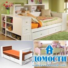 Порядочные кровати для детских