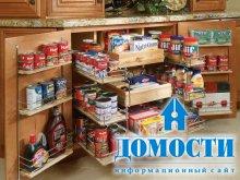 Организация места на кухне