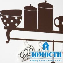Декоративные кухонные наклейки