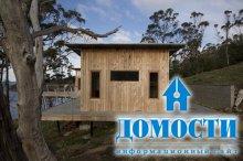 Деревянный дом с видом на океан