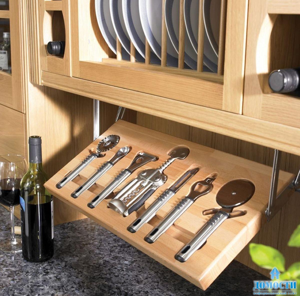 Системы хранения на кухне своими руками фото