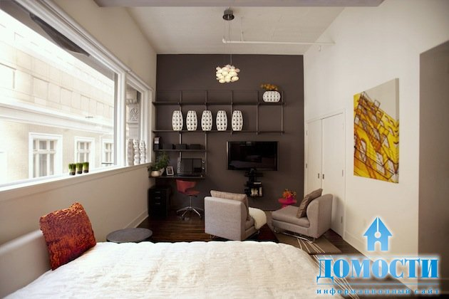 Дизайн однокомнатной квартиры 35 кв.м фото с