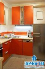 Приемы дизайна маленькой кухни