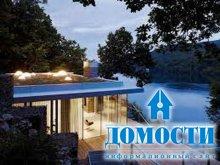 Дизайн домов у озера