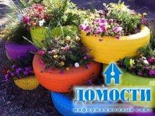 Горшки для цветов из ненужных предметов