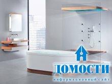Просторные современные ванные