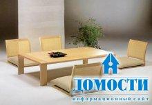 Японские стулья для современного интерьера