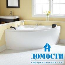 Разновидности угловых ванн