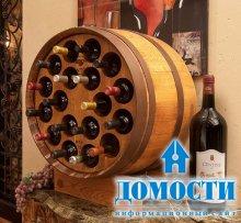 Декор из деревянной бочки