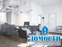 Квартира-лофт в индустриальном стиле