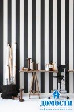 Стильные обои черно-белого цвета