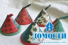 Чайные шапочки для украшения кухни