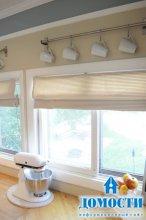 Окно как украшение кухни