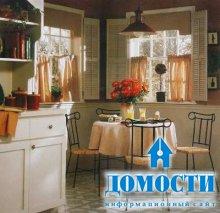 Выбор штор на кухню