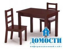 Деревянная мебель для детской