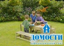 Детские столы-песочницы